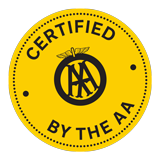Inspected and Certified by the AA